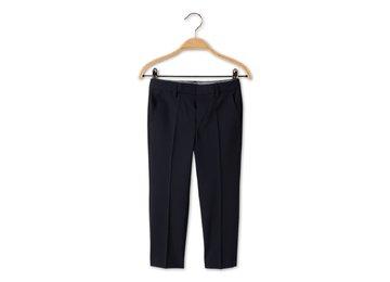 брюки темно-синие
